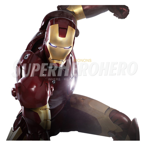 Designs Iron Man Iron on Transfers (Wall & Car Stickers) No.4565
